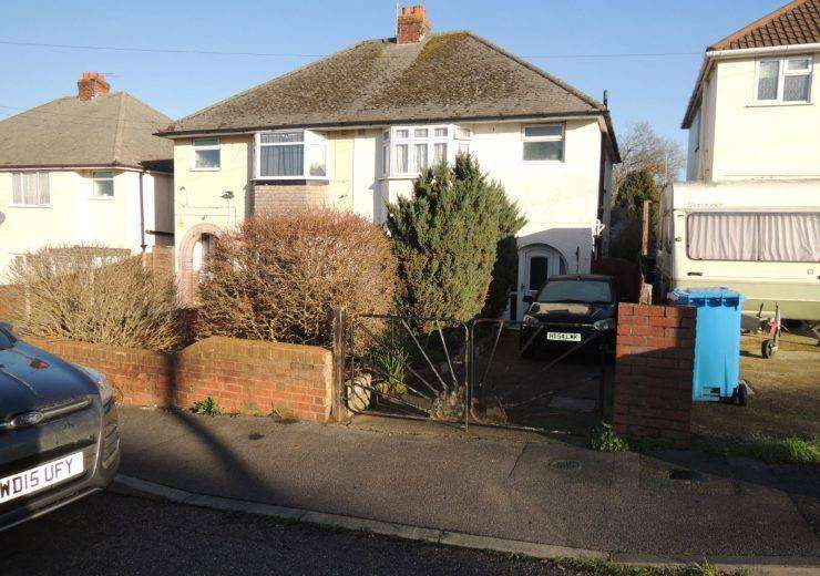 Semi-detached home with large garden