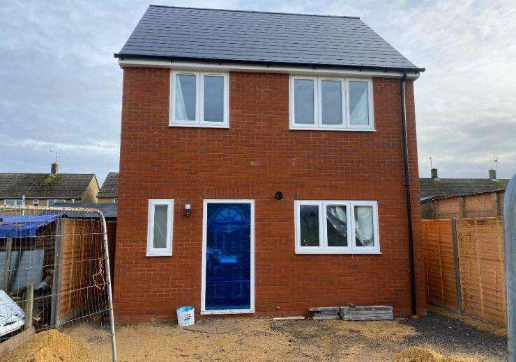 Brand new 3 bedroom detached house with 10 year guarantee