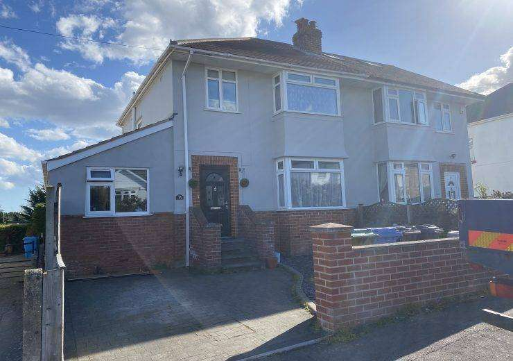 Four bedroom semi detached with southerly facing 100 ft garden