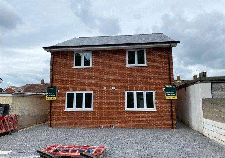 Brand new two double bedroom semi detached house located in Wimborne